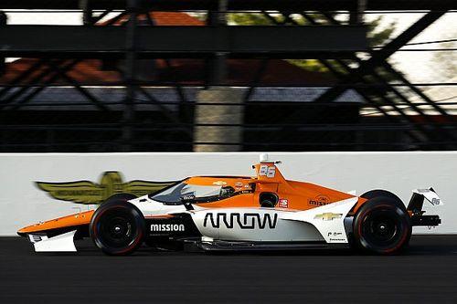 Montoya, no tan cómodo como pareció en el test de Indy 500