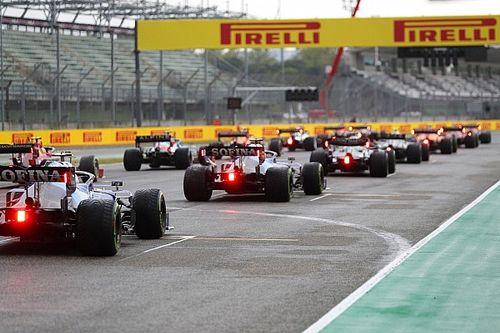 WK-stand F1 2021: Verstappen nadert Hamilton tot op één punt