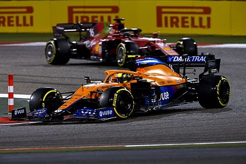 ノリス、フェラーリやアルファタウリとの激戦予想「トップからも大きくは離されていない」