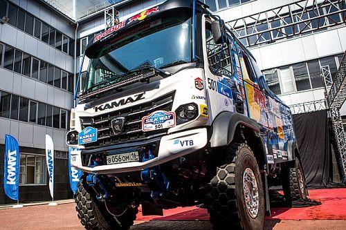 Команда КАМАЗа пополнилась новым гоночным грузовиком