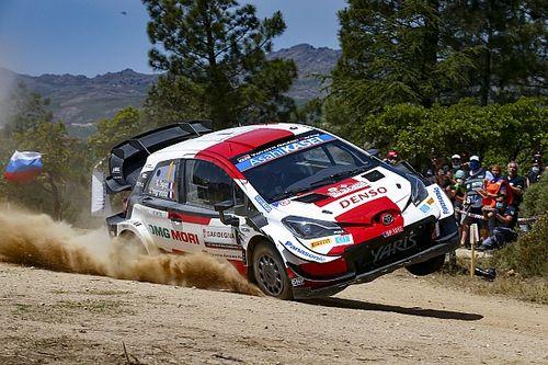 WRC: Toyota 1-2 a Szardínia-ralin, de a Hyundai-ok megint magukat lőtték lábon