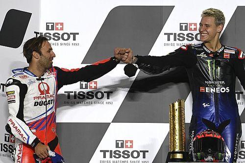 Quartararo: Sharing MotoGP podium with Zarco a career highlight