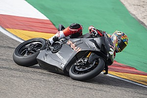 Test SBK Aragon, Giorno 2: Davies svetta sotto la pioggia con la Ducati Panigale V4