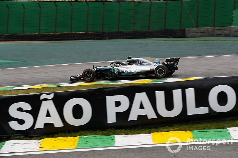 Bottas lidera 1-2 da Mercedes em Interlagos por 0s003