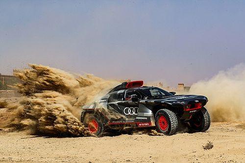 Sainz gaat meteen voor de zege in Dakar-debuut met Audi