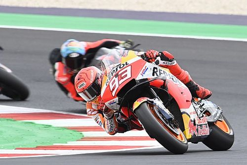 Marquez préfère sa quatrième place au podium d'Alcañiz
