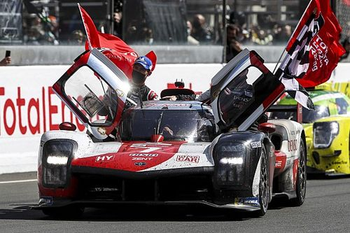 Łzy na mecie Le Mans