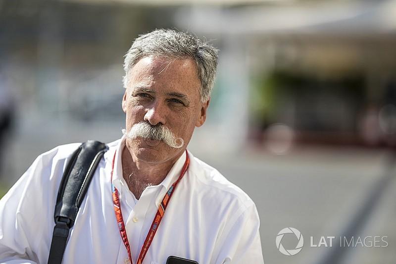 """Carey traça meta para F1: """"Causar interesse da nova geração"""""""