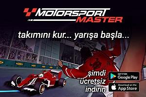 eSports Son dakika Motorsport Master Türkçe olarak yayında