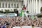 Fórmula E Rosenqvist abandonó y Bird aprovechó para festejar en Roma