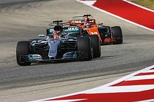 Hamilton n'exclut pas une lutte à quatre pour le titre 2018