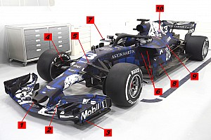 Análisis técnico: 10 cambios notables del Red Bull RB14