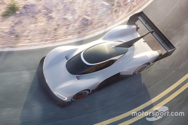 Volkswagen stellt den elektrischen I.D. R für Pikes Peak vor