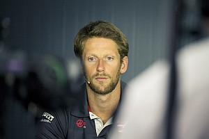 Nouvel accident pour Grosjean :