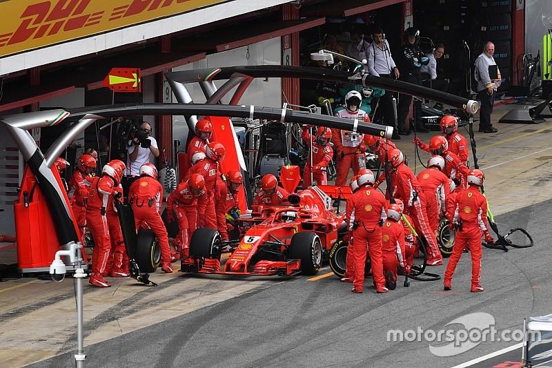 Vettel megvédte a taktikát: jó döntés volt a kerékcsere, nem azon múlt