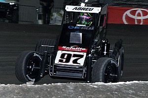 Midget Breaking news Chili Bowl Nationals: Abreu has a roller coaster Wednesday night in Tulsa