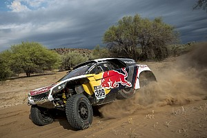 "Dakar Breaking news Loeb concedes Dakar defeat: ""Pushing now would be crazy"""