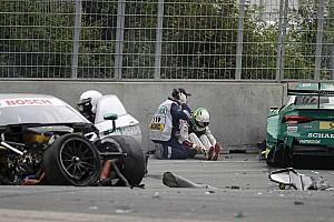 DTM Relato da corrida Forte batida marca vitória de Martin no DTM; Farfus é 7º