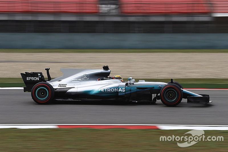 Hamilton poussé à la perfection par Ferrari