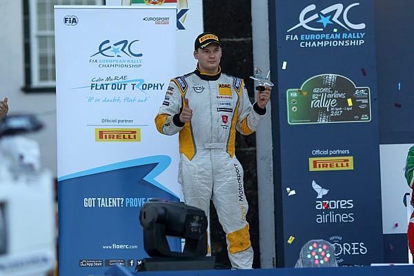 Huttunen si consola con il Colin McRae ERC Flat Out Trophy