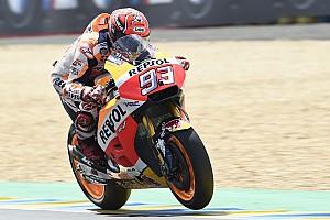 MotoGP Antrenman raporu Le Mans MotoGP: Isınma seansında lider Marquez