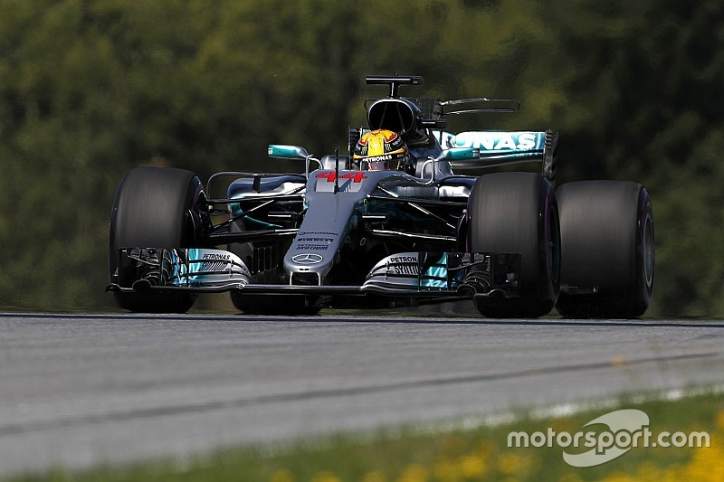 Red Bull Ring, Libere 1: Hamilton davanti a Verstappen. Ferrari quarta