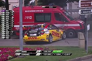 WTCC Noticias de última hora La FIA investiga Vila Real tras el accidente de Coronel