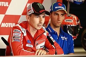 MotoGP Son dakika Lorenzo, şampiyonluk yolunda Dovizioso'yu desteklemeye hazır