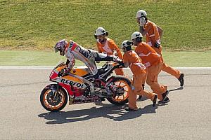 MotoGP Reactions Gagal raih pole, Marquez akui kesalahannya