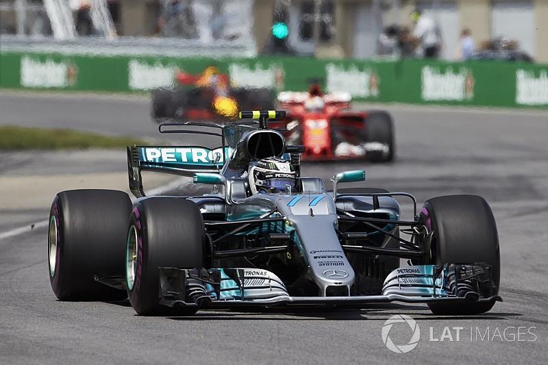 【F1】ボッタス「トラブルがなければ、ハミルトンと同じペースだった」