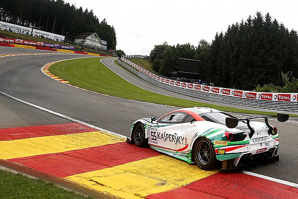 24h Spa 2017: Ferrari sichert sich die Pole-Position