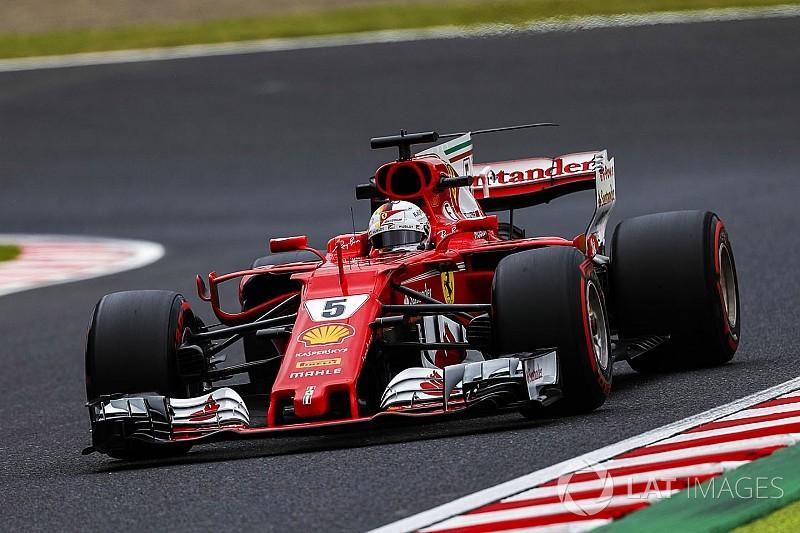 Vettel: Araç ilk turdan itibaren çok iyiydi