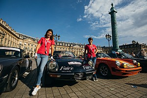 Vintage Special feature 100 crews contest Richard Mille Rallye des Princesses in France