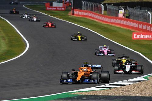 F1, GP 70° Anniversario: aggiunti cordoli alle Becketts