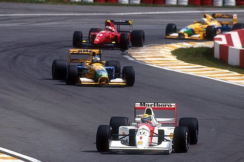 The day Senna enraged an unknowing Schumacher