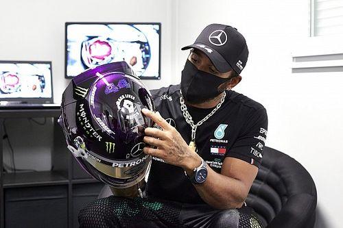 "Hamilton diz que foi ""silenciado"" ao tentar usar capacete em apoio a jogador da NFL"