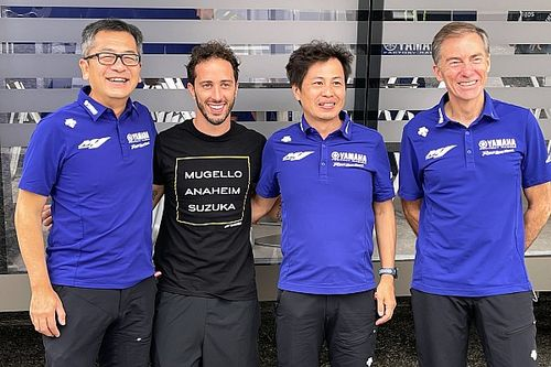 Yamaha anuncia de forma oficial el fichaje de Dovizioso