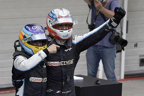 """Ocon: """"Esta victoria también es de Alonso"""""""