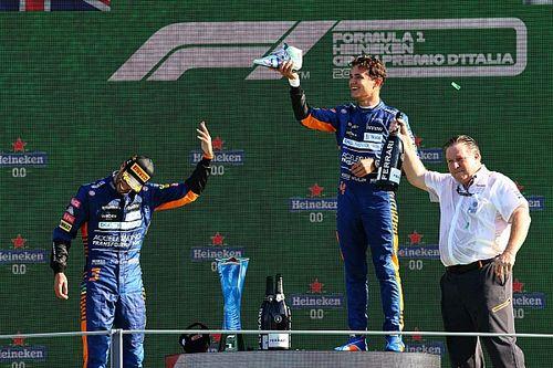 """Sainz is örült a McLaren """"történelmi"""" sikerének"""