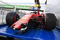 Vídeo y fotos: el accidente de Vettel que puso a Hamilton al límite