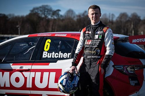 Butcher confident after first Toyota BTCC test