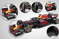 Tech: Wat heeft Red Bull veranderd voor de F1-auto van 2021?