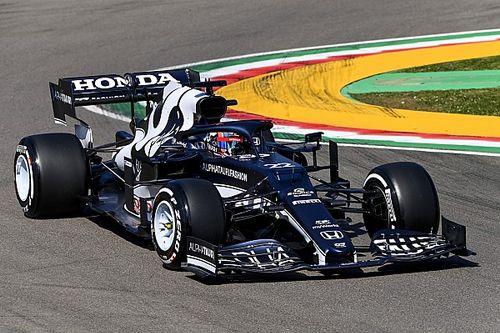 F1エミリア・ロマーニャFP1速報:ボッタス首位、フェルスタッペン僅差3番手。角田は黄旗でタイム出せず20番手