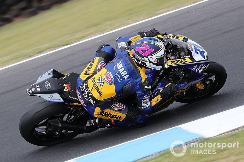 Supersport, Krummenacher è il più rapido nelle libere in Australia
