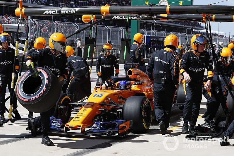 Alonso kiakadt: