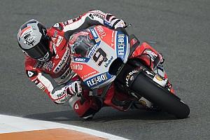 Test MotoGP Valencia, Giorno 1, Ore 14: Ducati prima con Dovizioso e terza con Petrucci