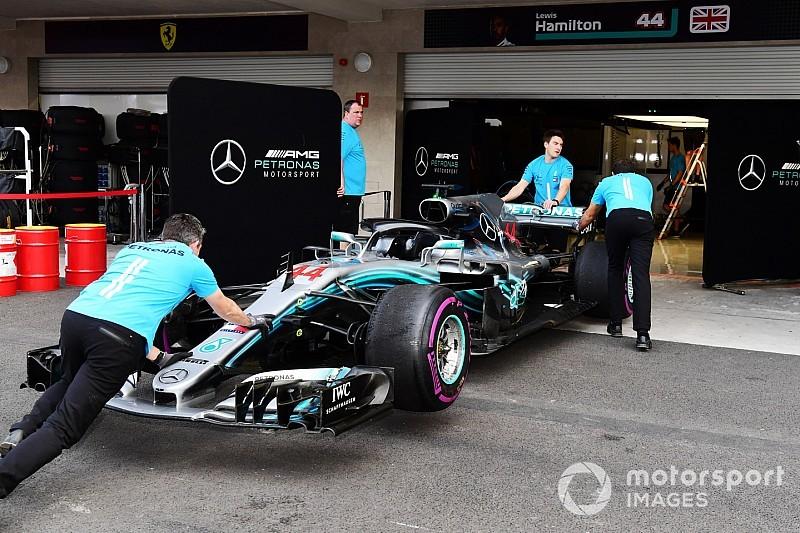 Hamilton desvela que Mercedes sigue investigando los problemas de México