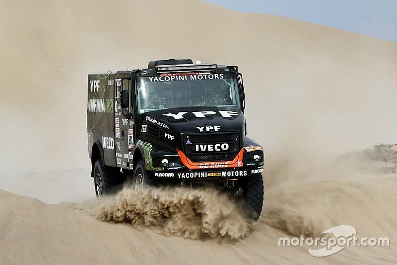 Dakar, Camion, Tappa 3: Villagra sorprende Nikolaev proprio nel finale!