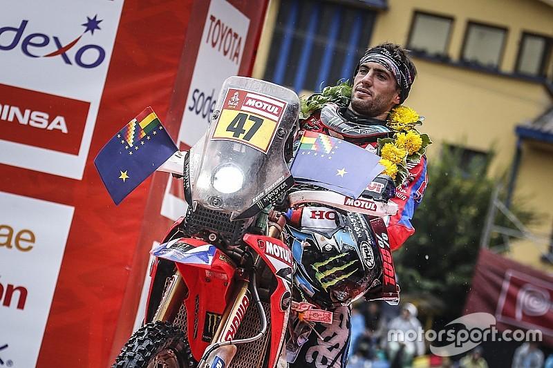 Dakar, Benavides nella storia: è il primo argentino in testa tra le moto