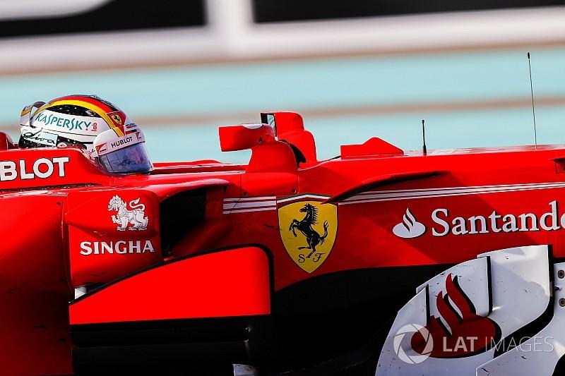 """""""Ferrari is met het hoofd al bij volgend jaar"""", aldus Vettel"""